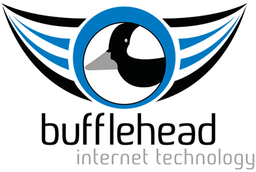Bufflehead Internet Technology Logo